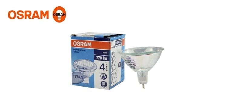 欧司朗进口卤素灯杯MR16 20W35W50W 12V射灯