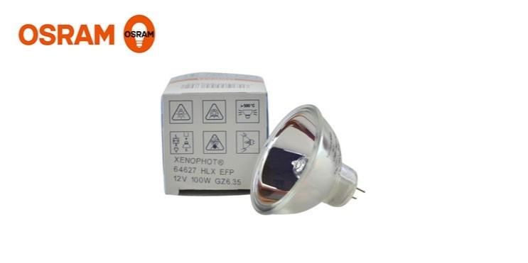 欧司朗显微镜仪器灯泡 12V100W卤素杯灯
