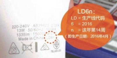 如何一秒破译LED灯泡产品编码?